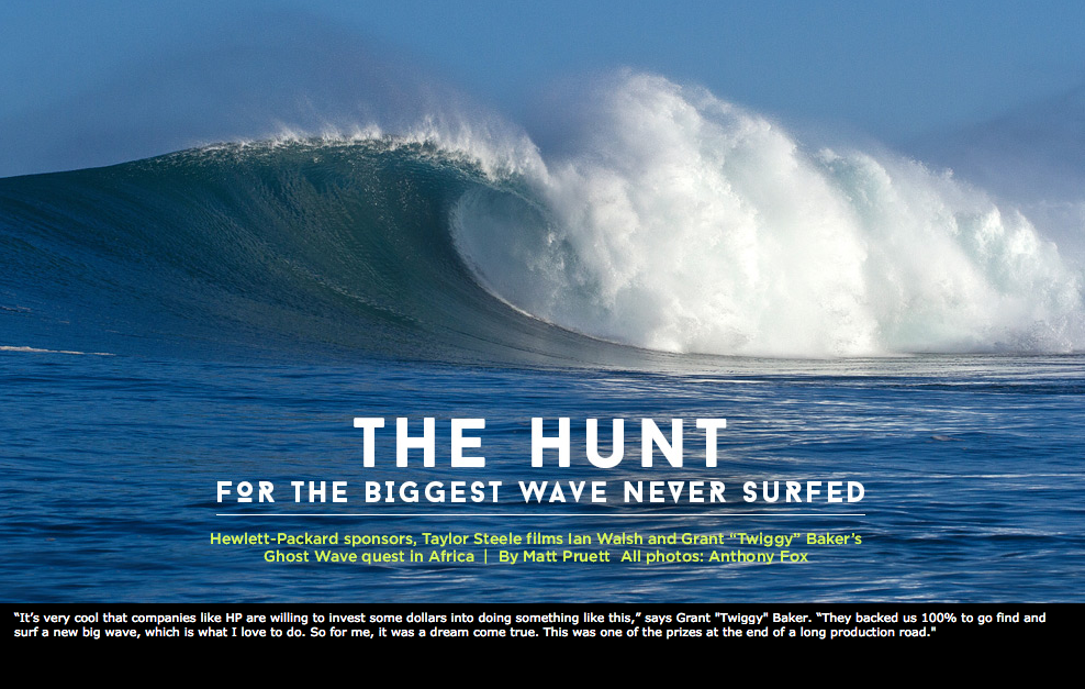 The Hunt for the Biggest Wave Never Surfed